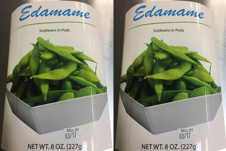 Listeria leads to edamame recall in 33 states by Everybody Craves