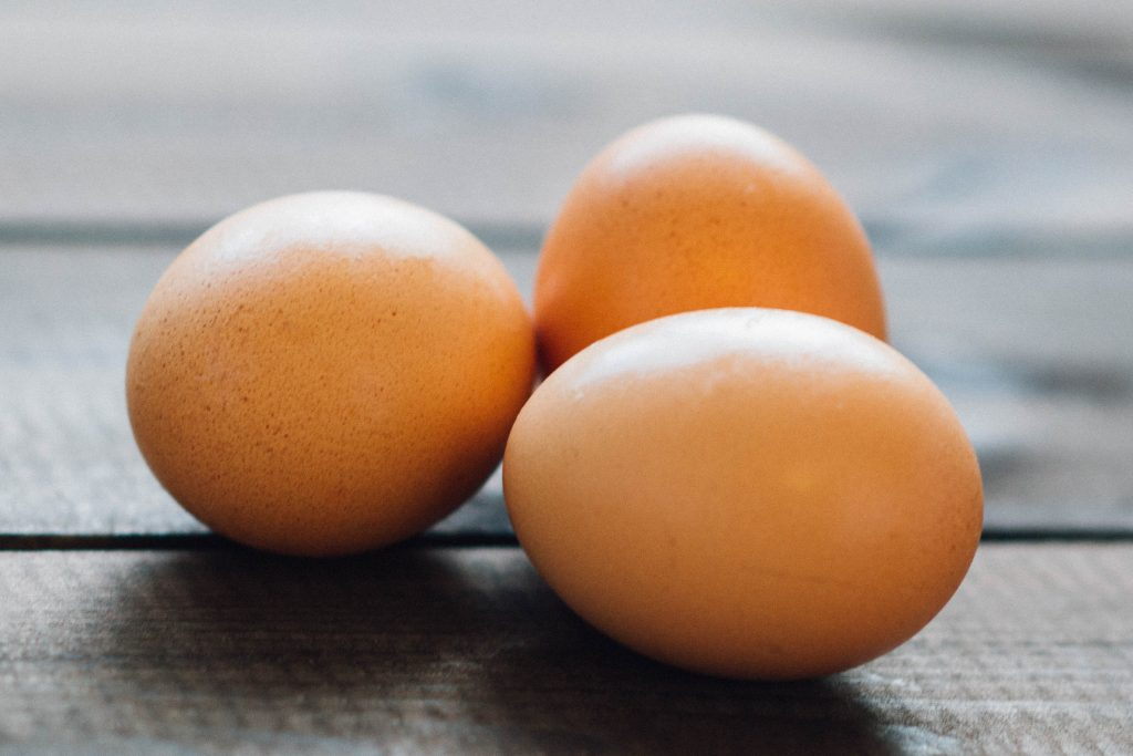 Foods you should never freeze-eggs