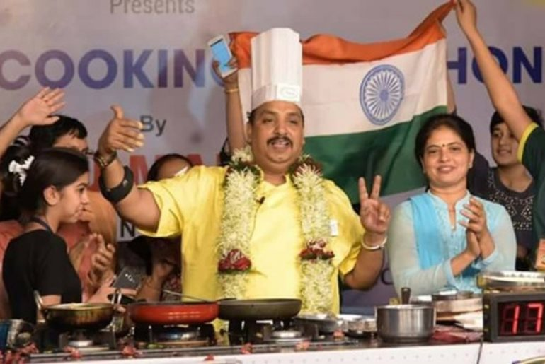 Chef sets guinness world record by cooking for 53 consecutive hours by Everybody Craves
