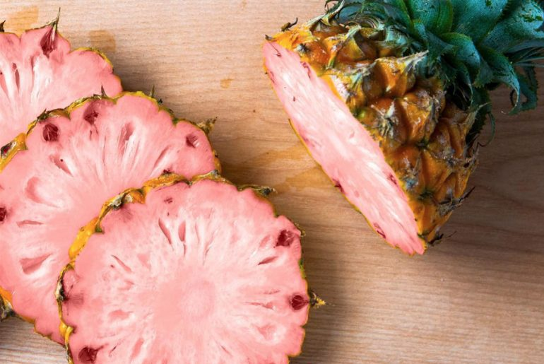 Pretty 'Pink Rose' Pineapples will be all the rage this summer by Everybody Craves