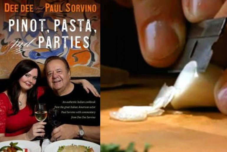 Paul Sorvino and wife Italian cookbook by Everybody Craves
