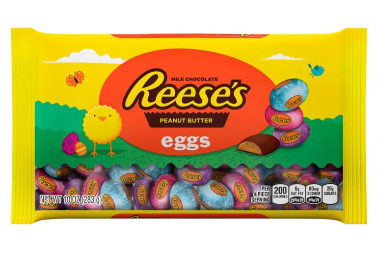 Reese's Peanut Butter Eggs are most popular easter candy this year by Everybody Craves
