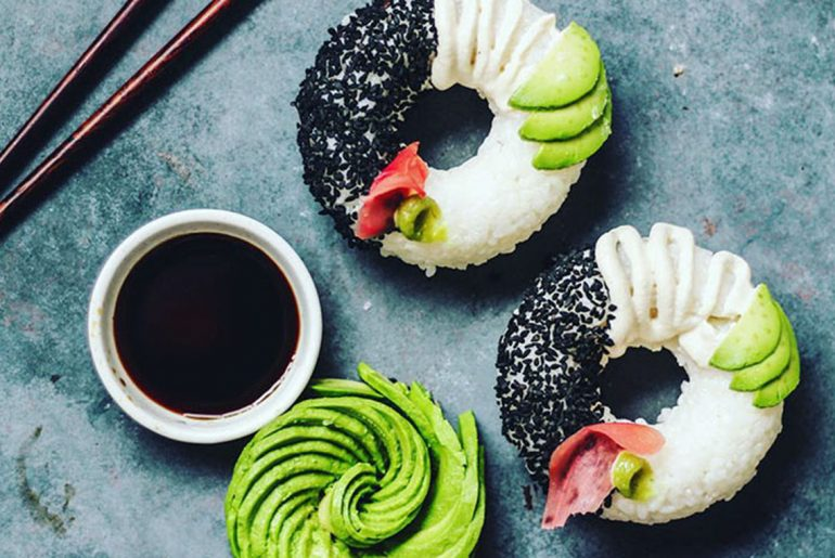 Sushi donuts are taking over the food world by Everybody Craves